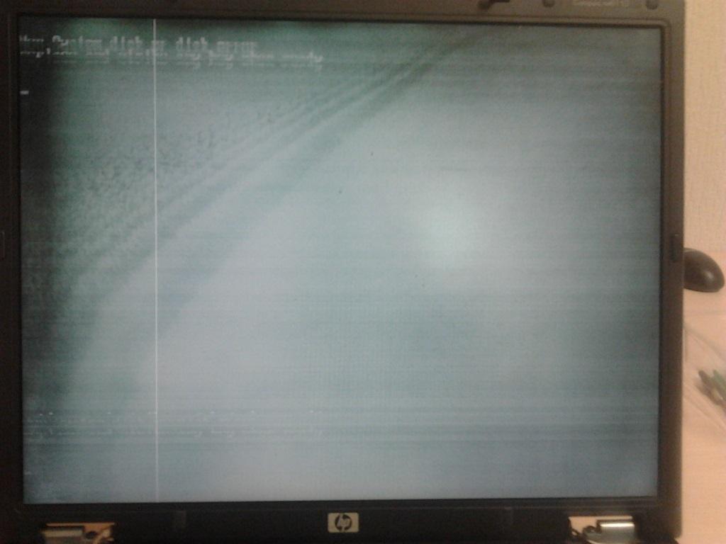 LCD matricos gedimas